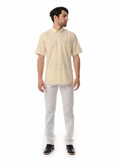 Hatemoğlu Regular Gömlek Sarı